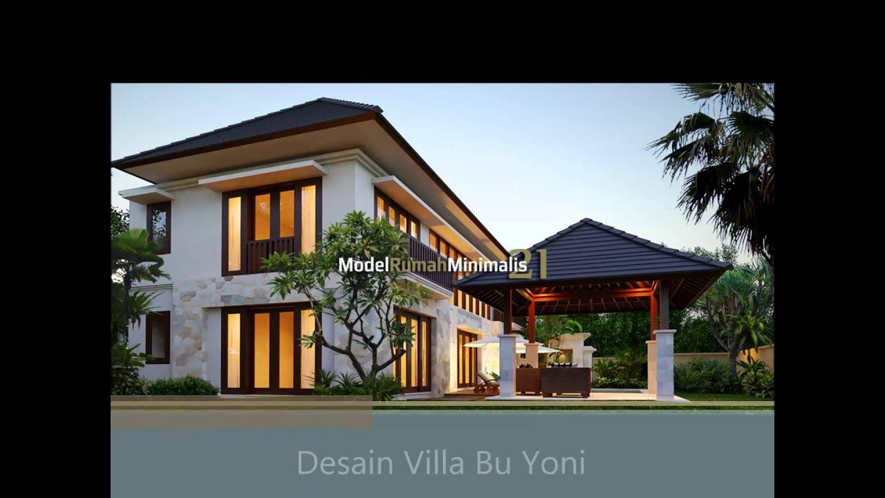 Desain Villa Minimalis Modern Youtube