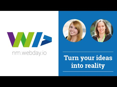 Turn your Ideas into reality - Prototyping in der Praxis | 4. WebDay Neumarkt | #WebDayNM
