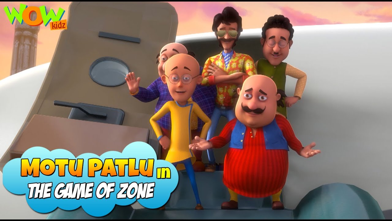 Download New Movie | MOTU PATLU In The Game Zone | Full Movie | Wow Kidz