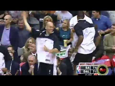Steve Kerr Comes Up Clutch in 2003 #LegendaryMoments