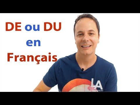 French Grammar: DE or DU in French