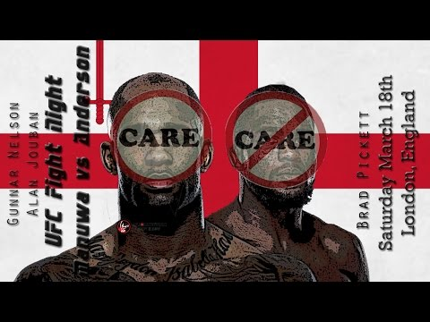 UFC London Manuwa vs Anderson Care/Don't Care Preview