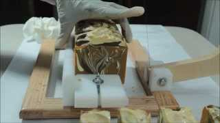 The Making And Cutting Of Candied Yams Luxury Silk Soap
