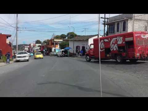 Calles de Teziutlan Puebla 2015
