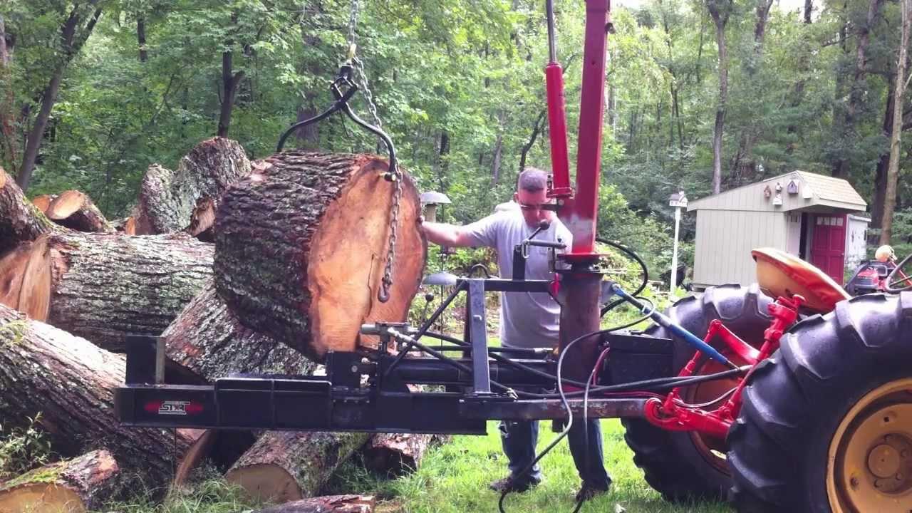 Building A Log Splitter Hoist 6 Final Youtube