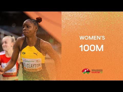 Women's 100m Final | World Athletics U20 Championships