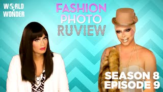 RuPaul's Drag Race Fashion Photo RuView w/ Raja and Raven Season 8 Episode 9