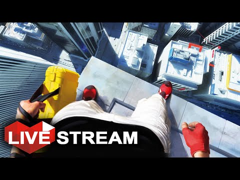 Mirror's Edge Catalyst Gameplay   Exploring the Entire City!   Open World Parkour (60fps)