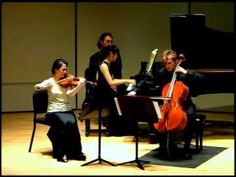 Felix Mendelssohn Piano Trio No. 2 in c minor, op. 66 | Marinus Ensemble