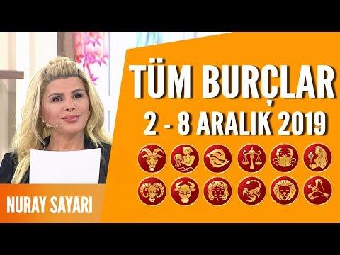 TÜM BURÇLAR | 2 Aralık - 8 Aralık 2019 | Nuray Sayarı'dan haftalık burç yorumları