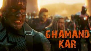 Ghamand Kar ft. Avengers and Other Superheroes    Winners of MarVel quiz #33   Avengers vs Thanos