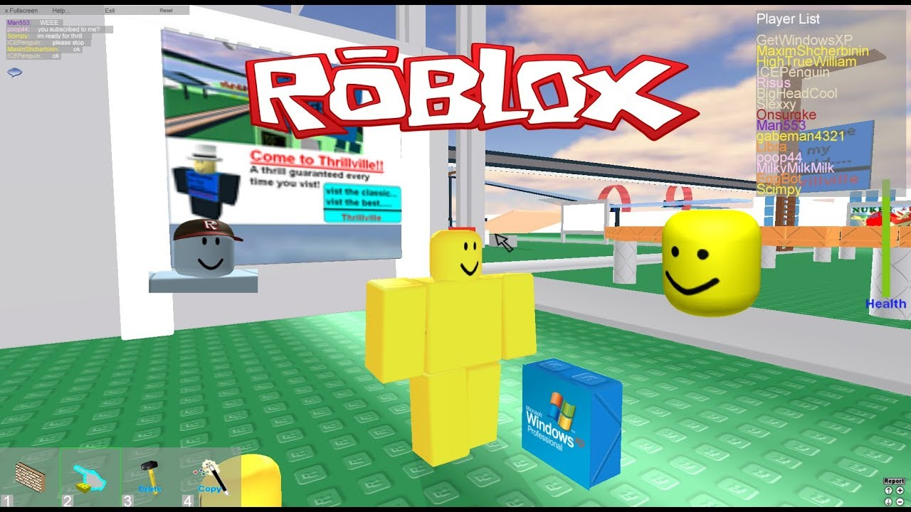 Oldest Roblox Player Still Active Playing Old Roblox Youtube