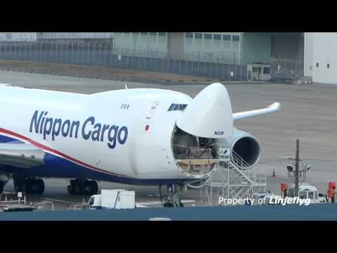Nippon Cargo Airlines (NCA)Boeing 747-8F @NRT
