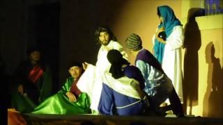 Manuel Doblado Semana Santa 2016  actuación La Última Cena y Aprehensión de Jesús
