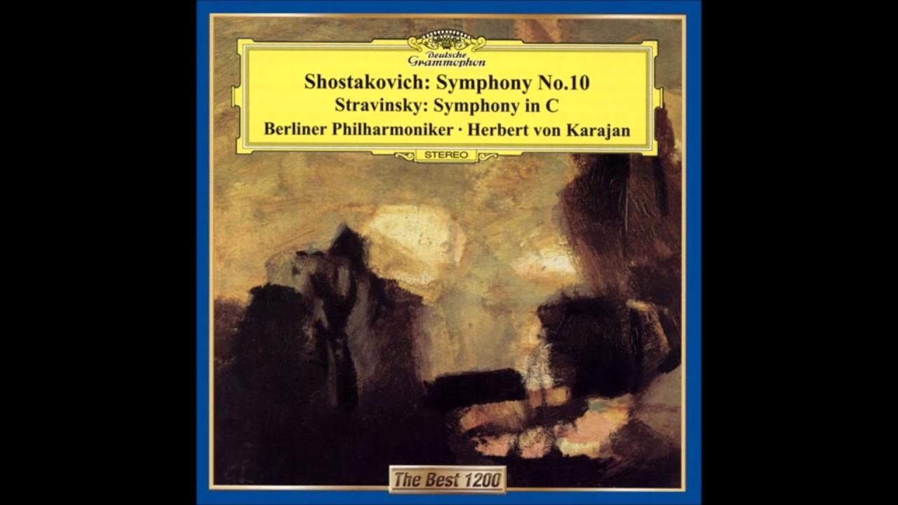 Stravinsky - Symphony C Karajan  Berlin Philharmonic Orchestra