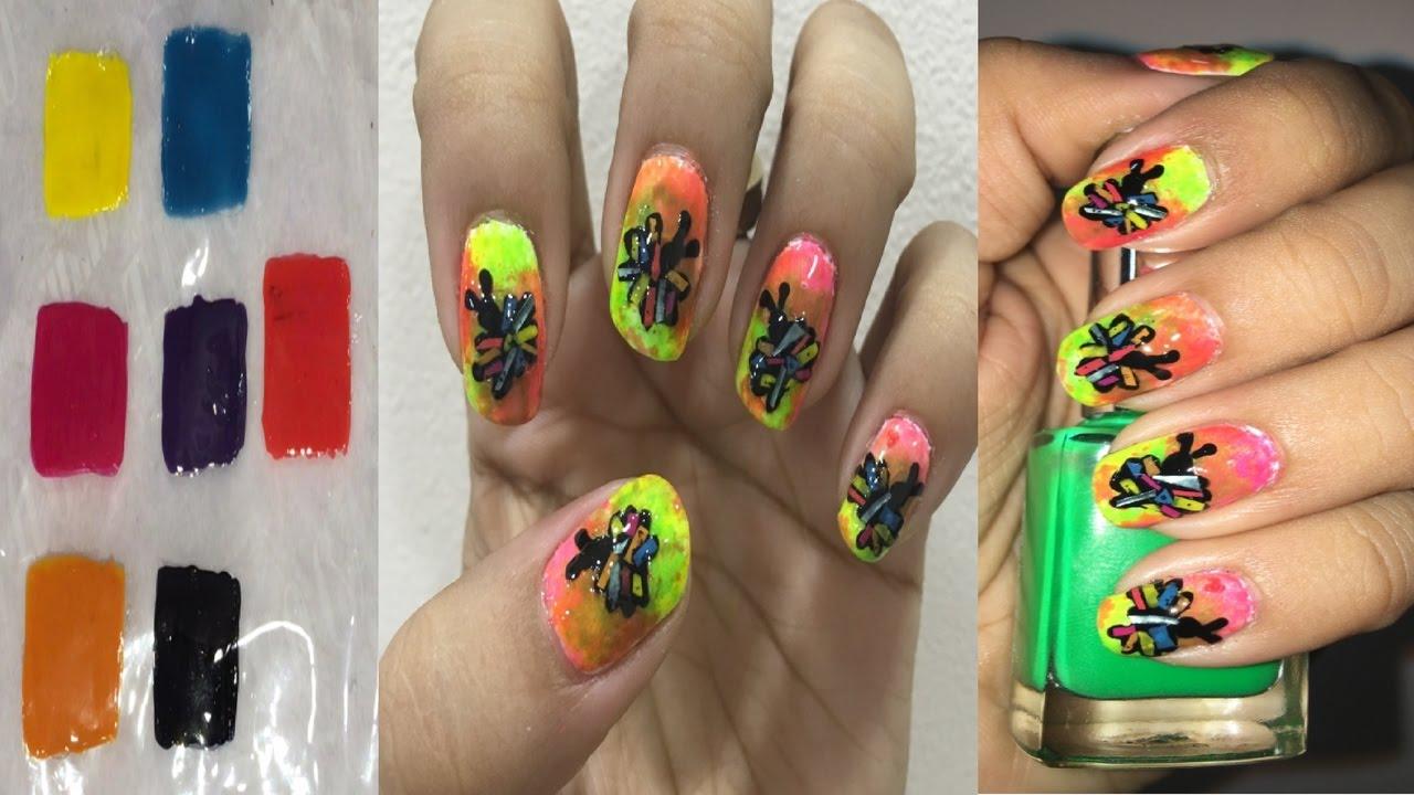 DIY Nail Art Stickers # 15 I Make your own DIY Nail Art ...