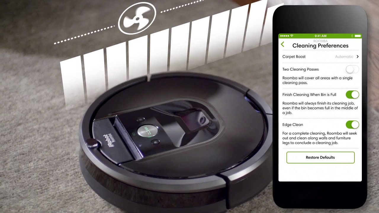iRobot HOME App - YouTube