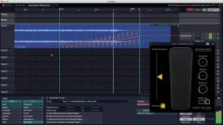 tracktion t7 automation patterns ramping ft hornet wahwah