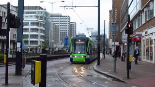 Video 1283 London Trams, Tram Link, 7 Apr 2014