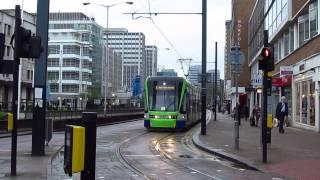 Video 1283 London Trams, Tram Link, 7 Apr 2014