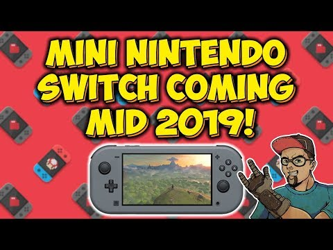 Nintendo Switch Mini Console Coming Mid 2019 According To Nikkei! Mp3