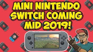 Nintendo Switch Mini Console Coming Mid 2019 According To Nikkei!