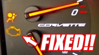 CAR HACK: EASY Check Engine Light Fix!