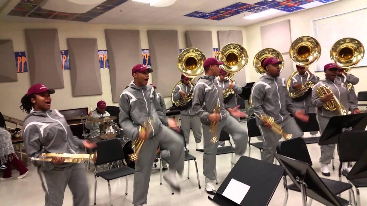 virginia union at vance high school ciaa 2015 youtube
