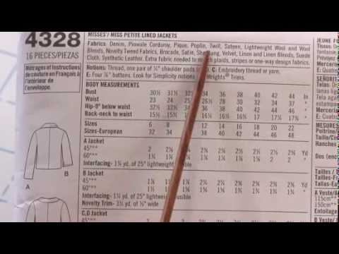 Teach Yourself to Sew: Patterns 101