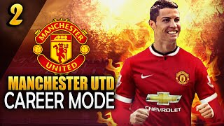 FIFA 15 Manchester UTD Career Mode - CRISTIANO RONALDO COMING BACK HOME?! - Ep.2