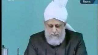 Проповедь Хазрата Мирзы Масрура Ахмада (16-07-10) часть 1