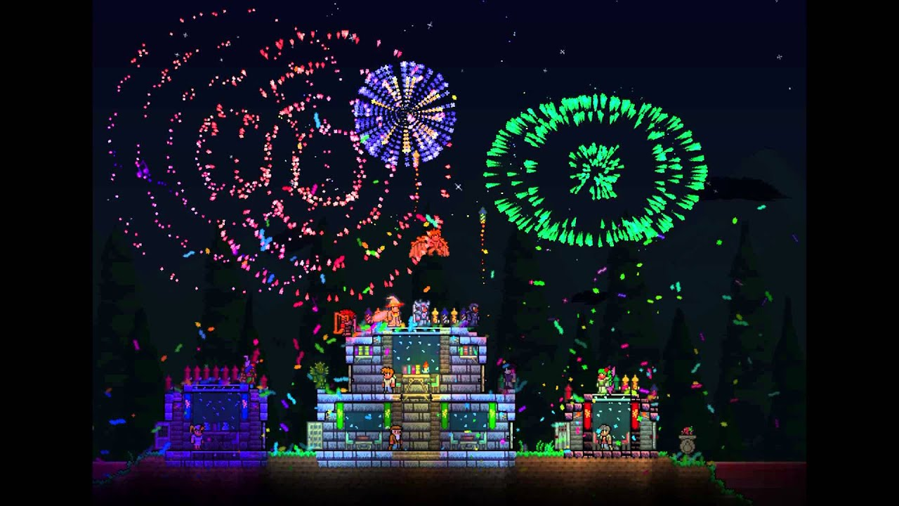 Terraria 1 2 Update Eater Of Souls Pet Fireworks
