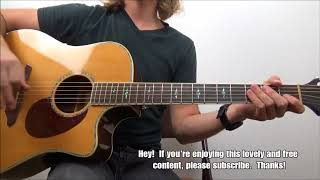 How to Play Hotel California the EASY Way   Guitar Lesson