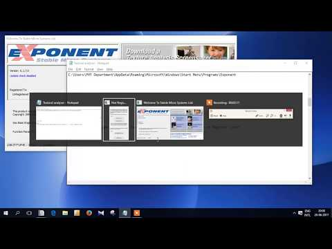 Exponent HD plus TEXTURE Analyser user Demo Video