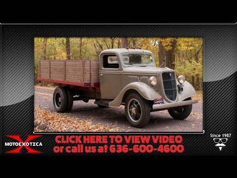 1935 Ford 1 1/2-ton Flatbed Pickup -- SOLD