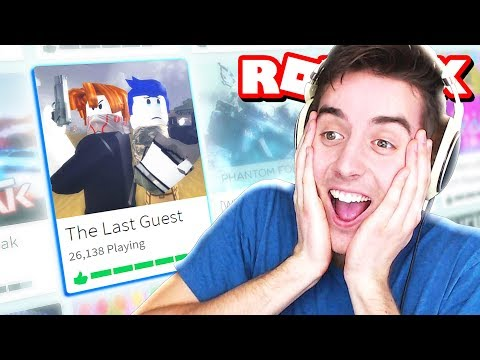 The Last Guest - A Sad Roblox Movie THE GAME!!