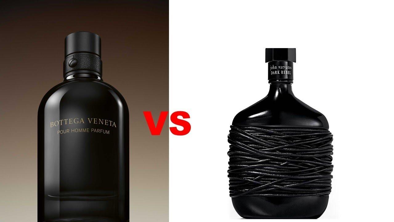 Bottega Veneta Pour Homme Parfum Vs John Varvatos Dark Rebel Episode