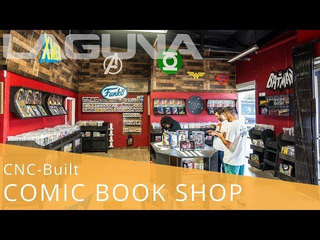 CNC-Built Comic Book Shop: Strange Cereal | Laguna Tools