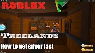 Roblox: TreeLands: UPDATED! How to get silver fast