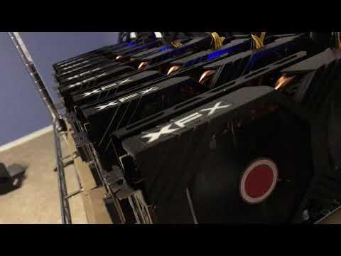 How Noisy 9 GPU Mining Rig Can Make Eth Mining Etherium