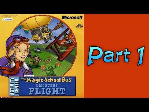 Whoa, I Remember: The Magic School Bus Discovers Flight Activity Center: Part 1