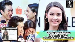 vuclip [ENG SUB] Yaya is Proud Known Internationally Her Respond Nadech Love Confession | Pantene 28/03/18