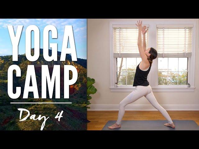 Yoga Camp Day 4 - I Awaken