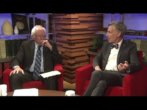 U.S. Senator Bernie Sanders LIVE with Bill Nye