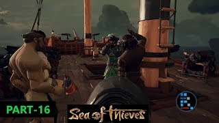 SEA OF THIEVES | PARTYING WITH OTHER PIRATES & STEALING THEIR SHIP#16