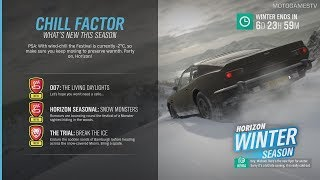 Forza Horizon 4 - Winter Season Change