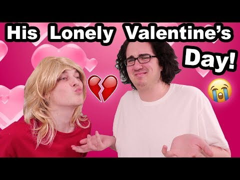 OUR HAPPY VALENTINE'S DAY!! (We got him a DATE)