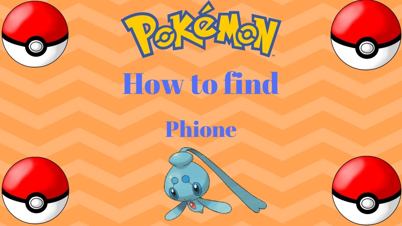 How To Get Phione Mythical Pokemon Pokemon Brick Bronze Youtube
