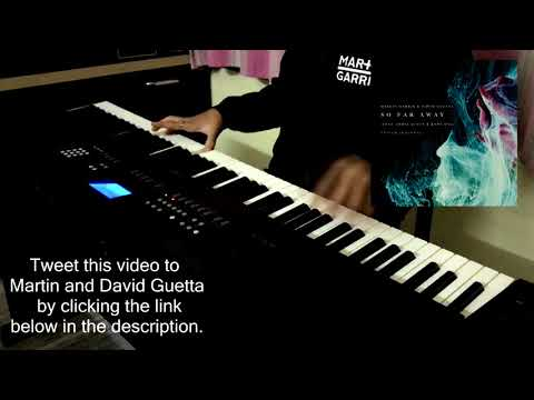 So Far Away - Martin Garrix David Guetta Jamie Scott Romy Dya  Shivam Aggarwal Piano Cover