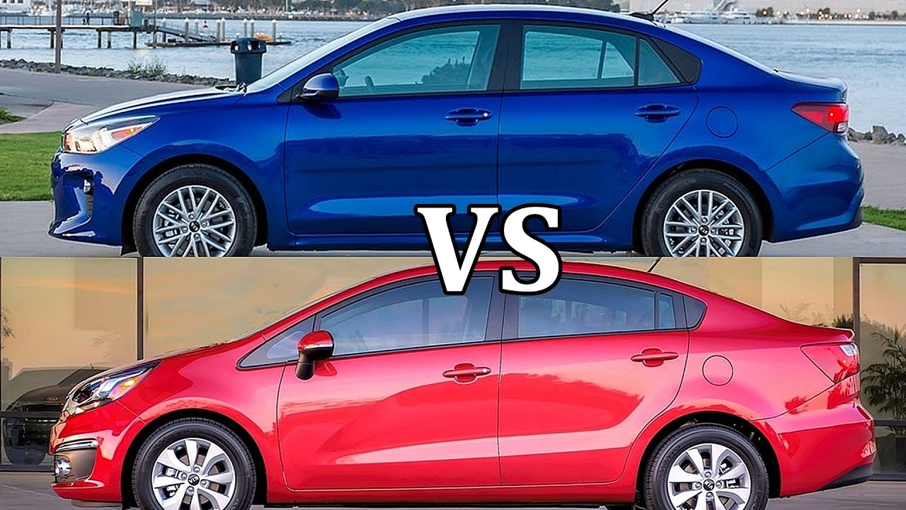 2018 kia rio sedan vs 2017 kia rio sedan youtube. Black Bedroom Furniture Sets. Home Design Ideas